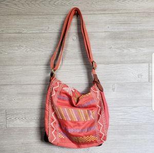 Lucky Brand Graphic Messenger Bag